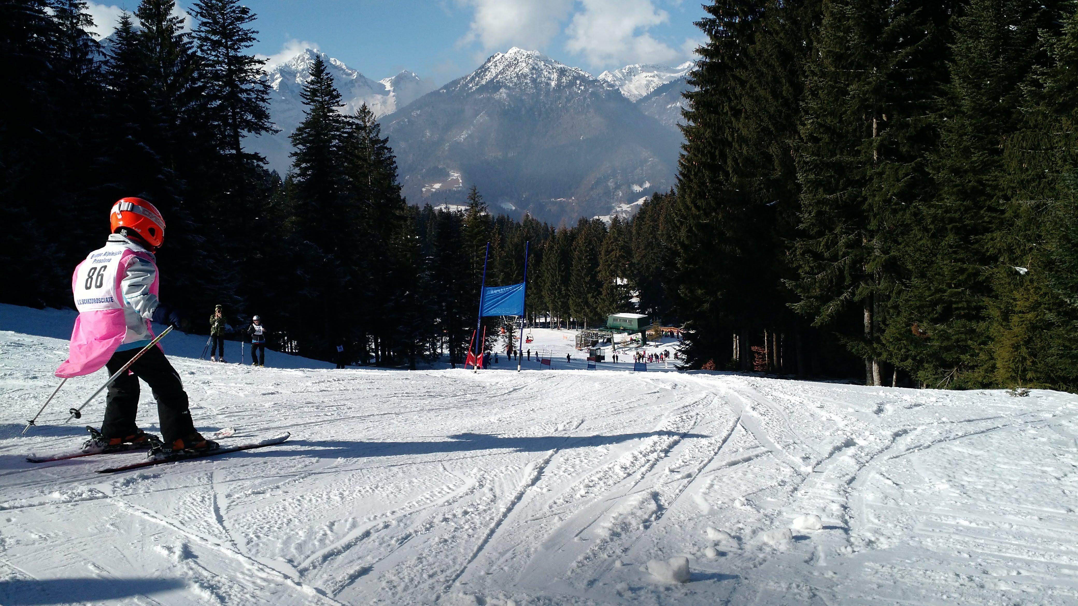 Cuccioli del GAP nella gara di Slalom Gigante