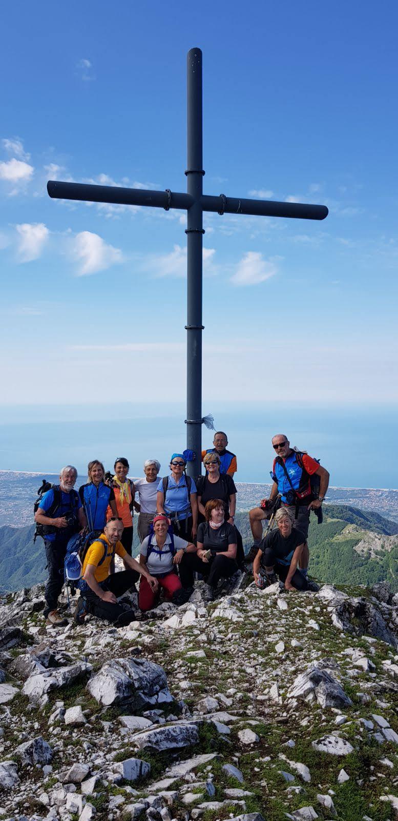 Escursionismo nelle Apuane