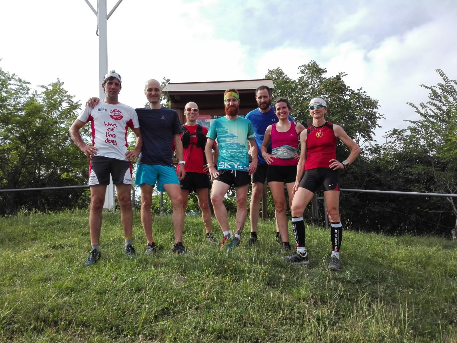 Uscita per gli amanti del trail running sulla collina di Scanzo