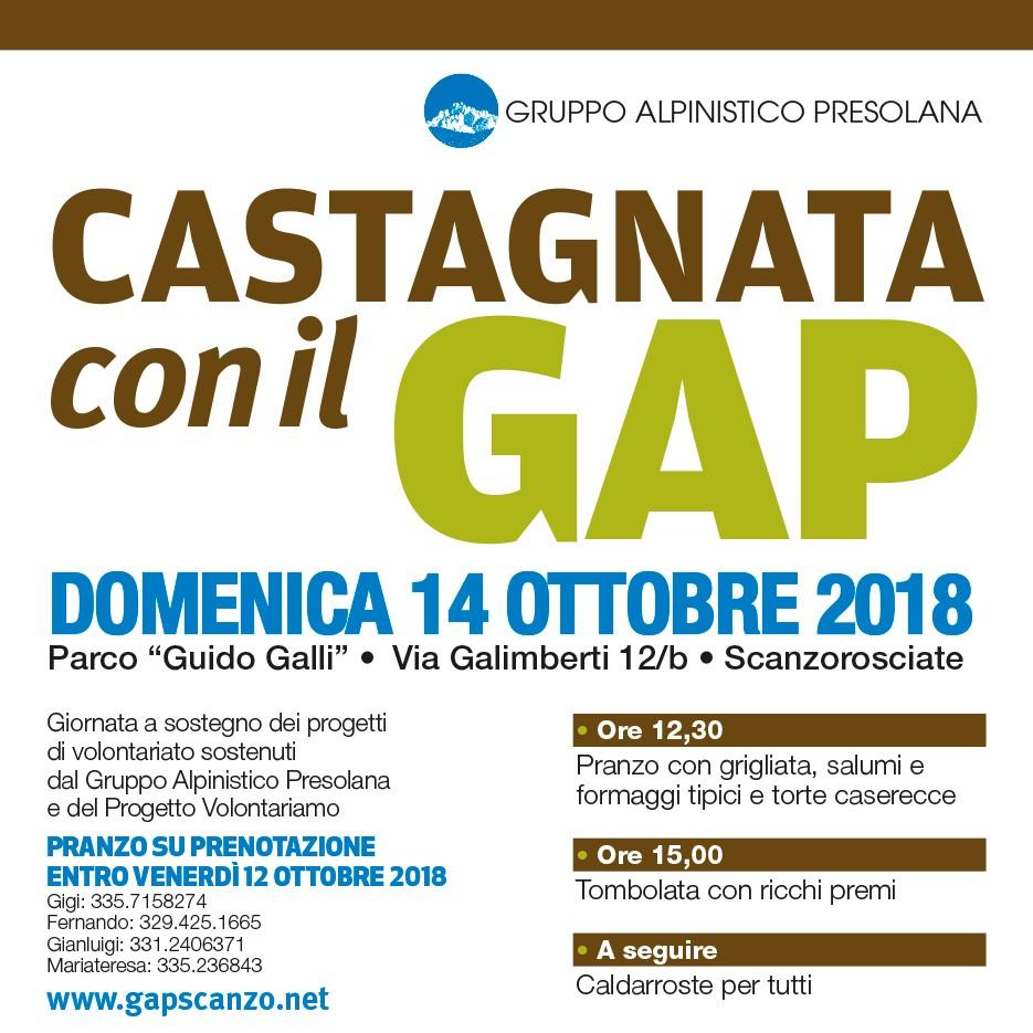 Castagnata solidale GAP – 2018