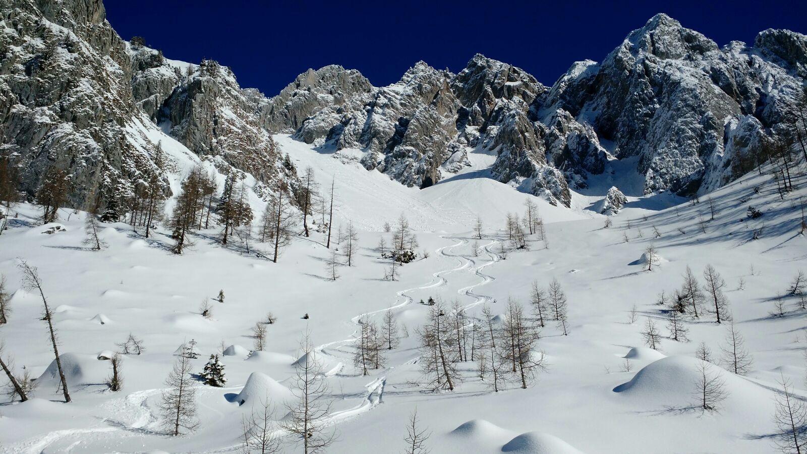 Si è alzata l'asticella, Pizzo Camino (2492 m) con gli Sci.