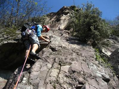 Sabato arrampicata, domenica bastonata!!!