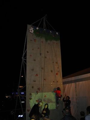 Giovani Climbers alla Festa dell Sport