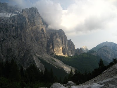 Dolomiti- Via Da Roit alla P.ta Agordo