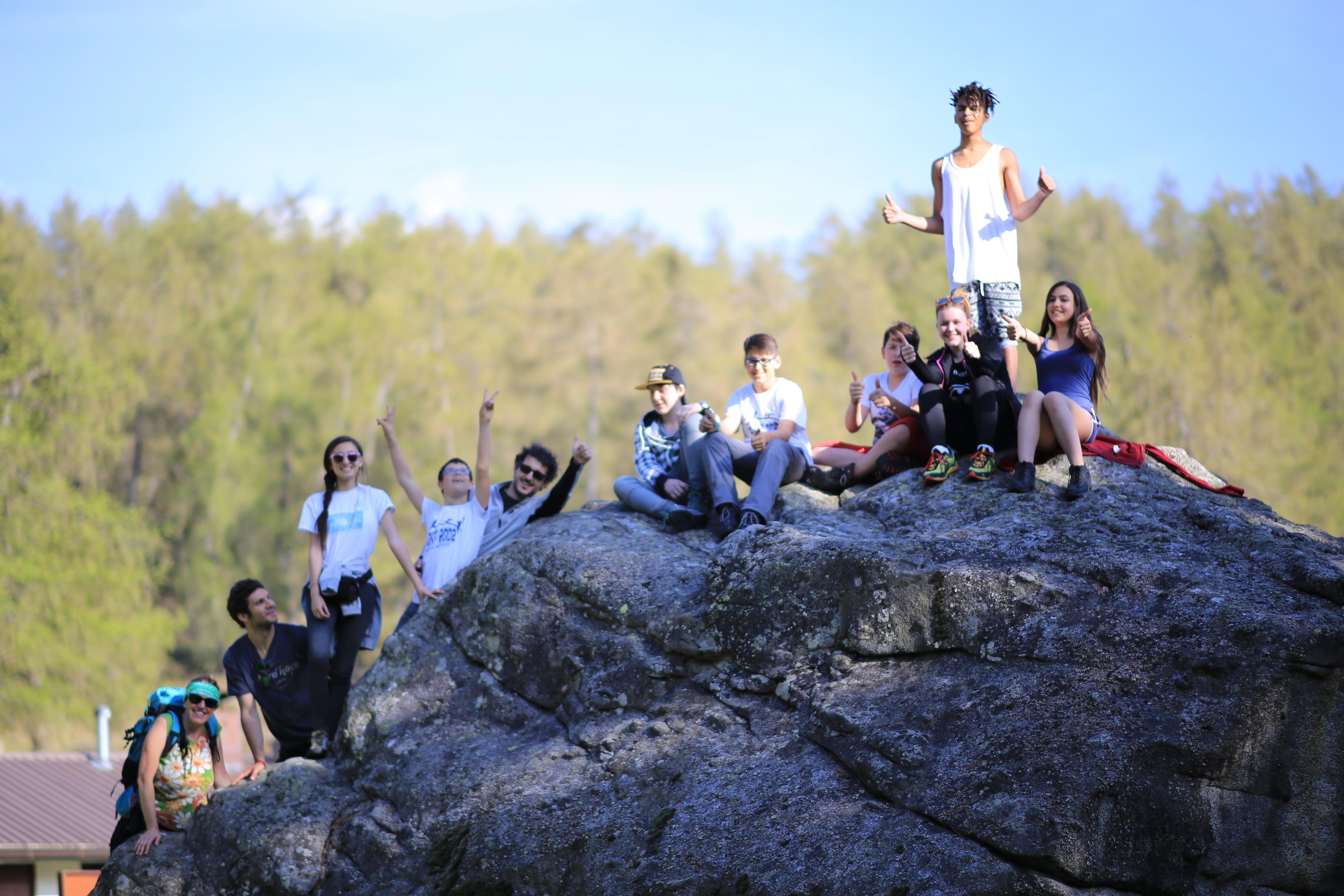 Passioni Verticali. In montagna, in gruppo.