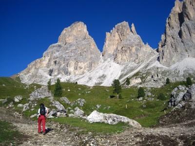 Dolomiti coast to coast- Sassopiatto