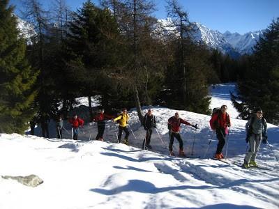 L'inverno è arrivato. Piz Tri dello scialpinista.