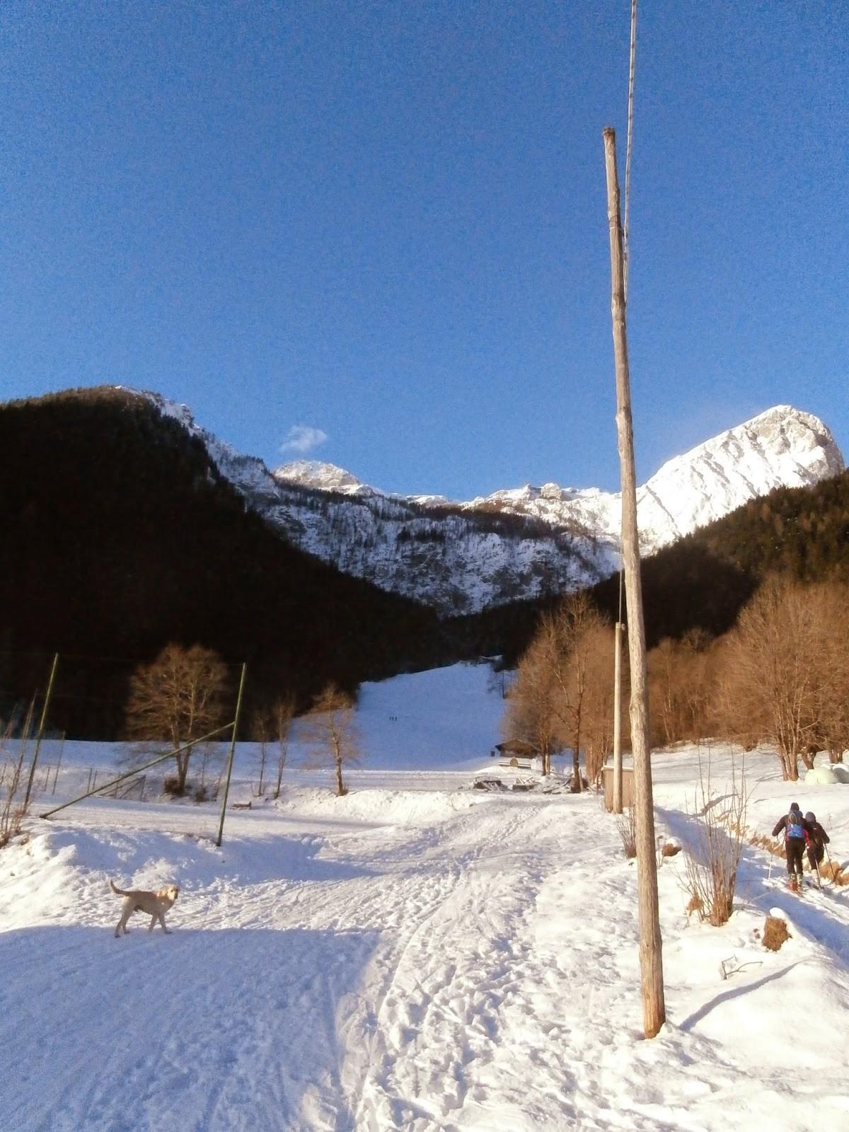 Barbarossa, neve fresca e vento