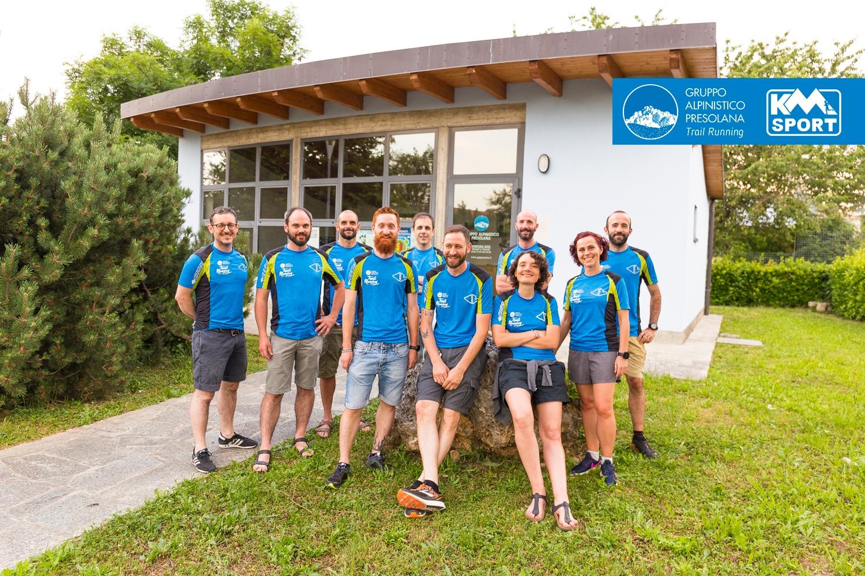 Ragazzi della Squadra di Corsa in montagna GAP