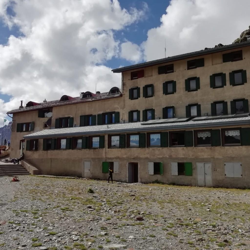 Rifugio Marinelli, dove pernotteremo