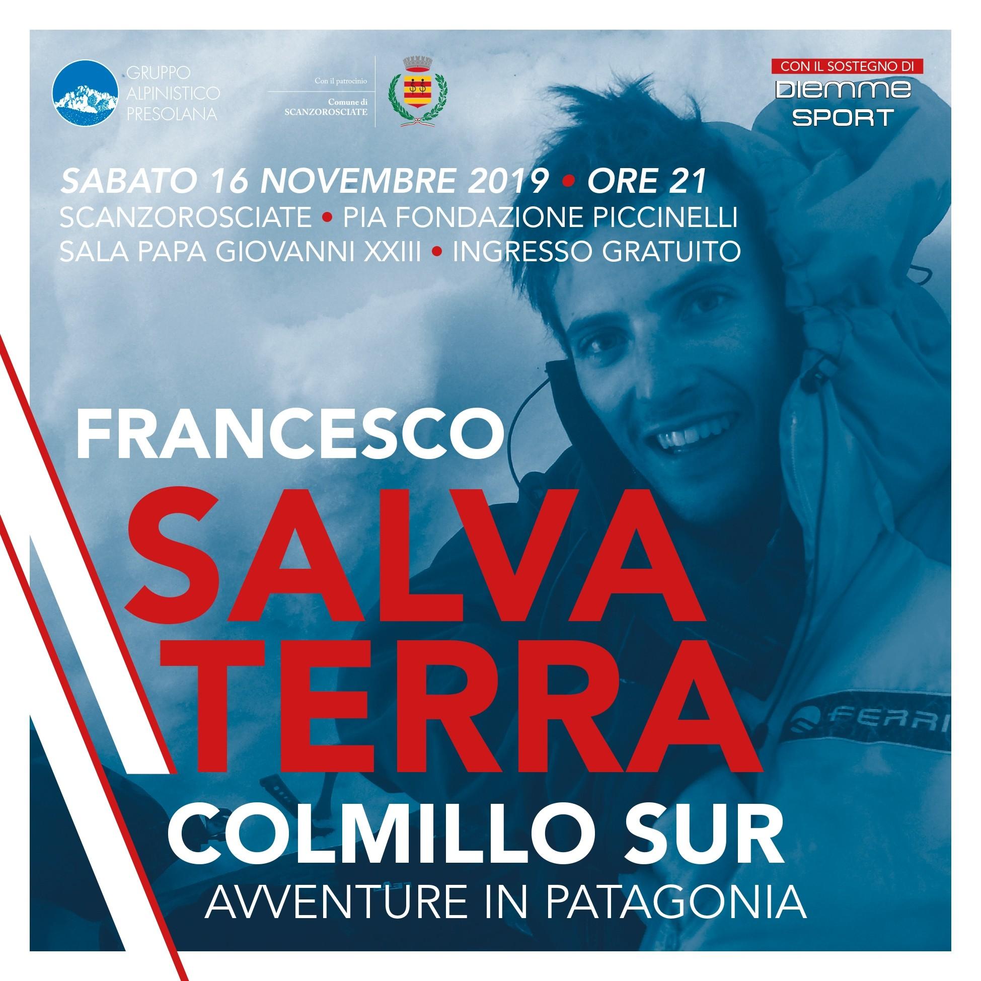 Francesco Salvaterra ospite al GAP – Sabato 16 Novembre 2019