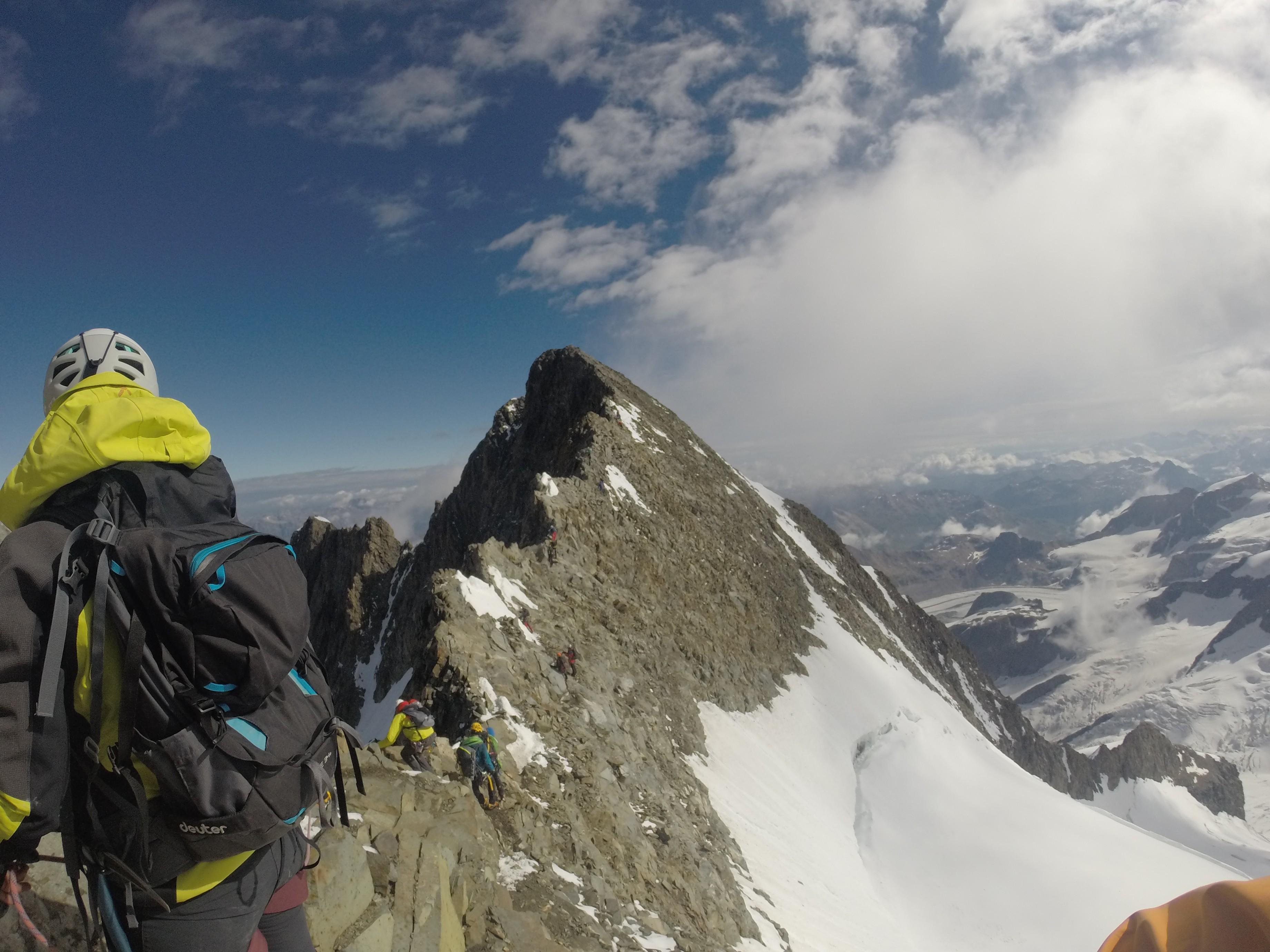 Pizzo Bernina (4050 m) – Via Normale Italiana