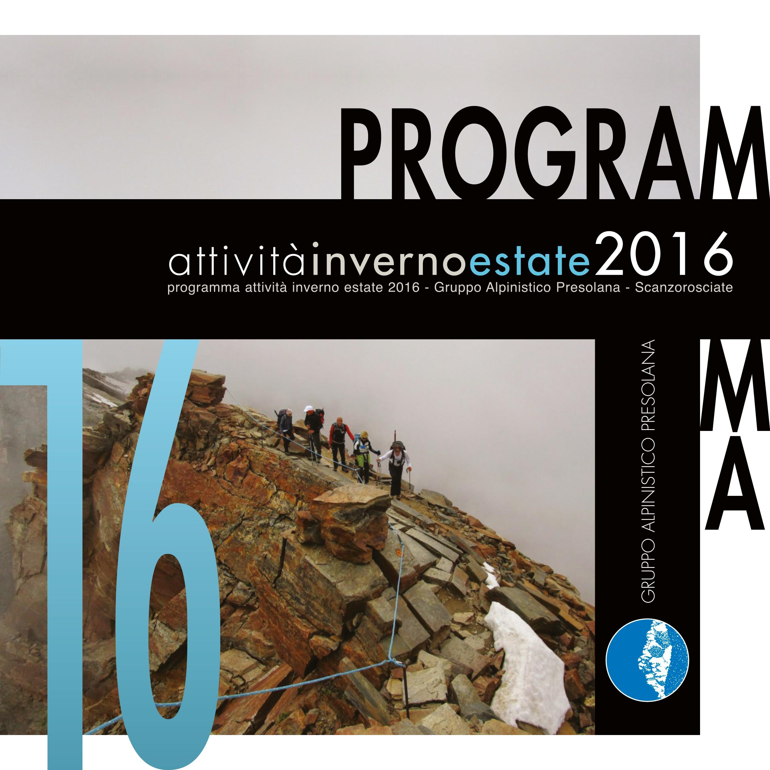 Calendario Stagione 2015-2016