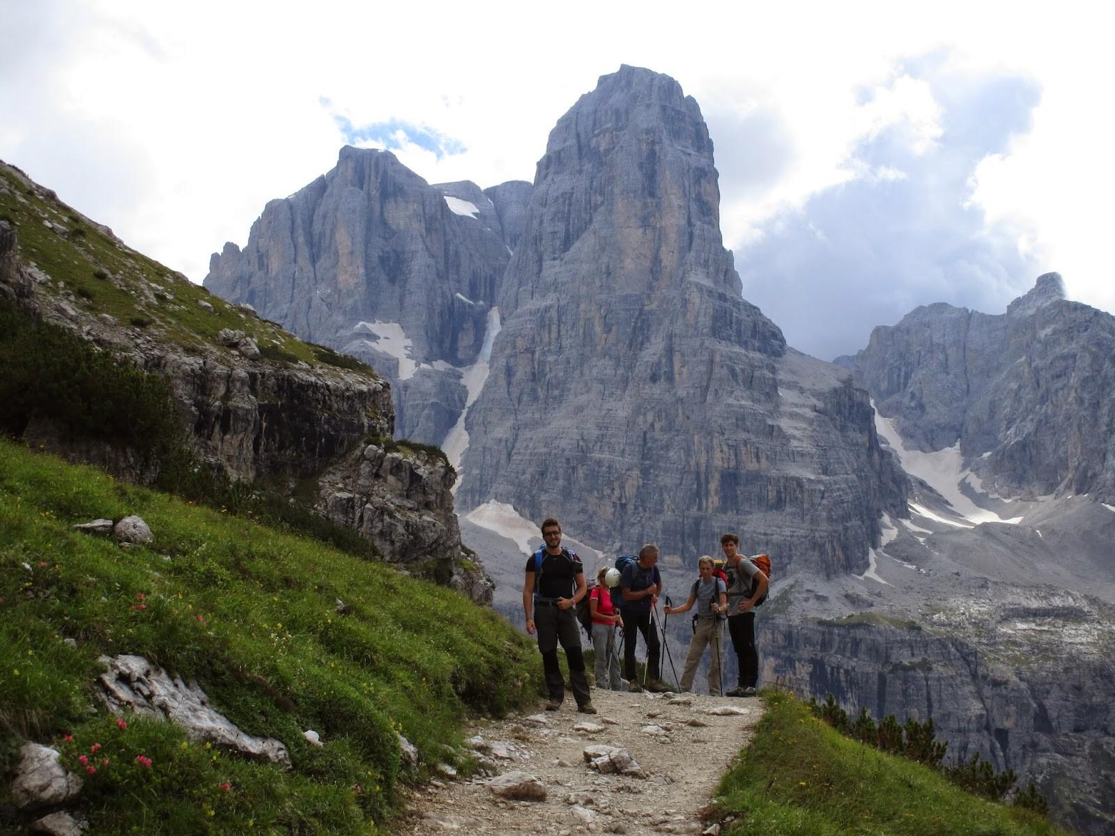 Dolomiti di Brenta-Sentiero delle Bocchette Centrali