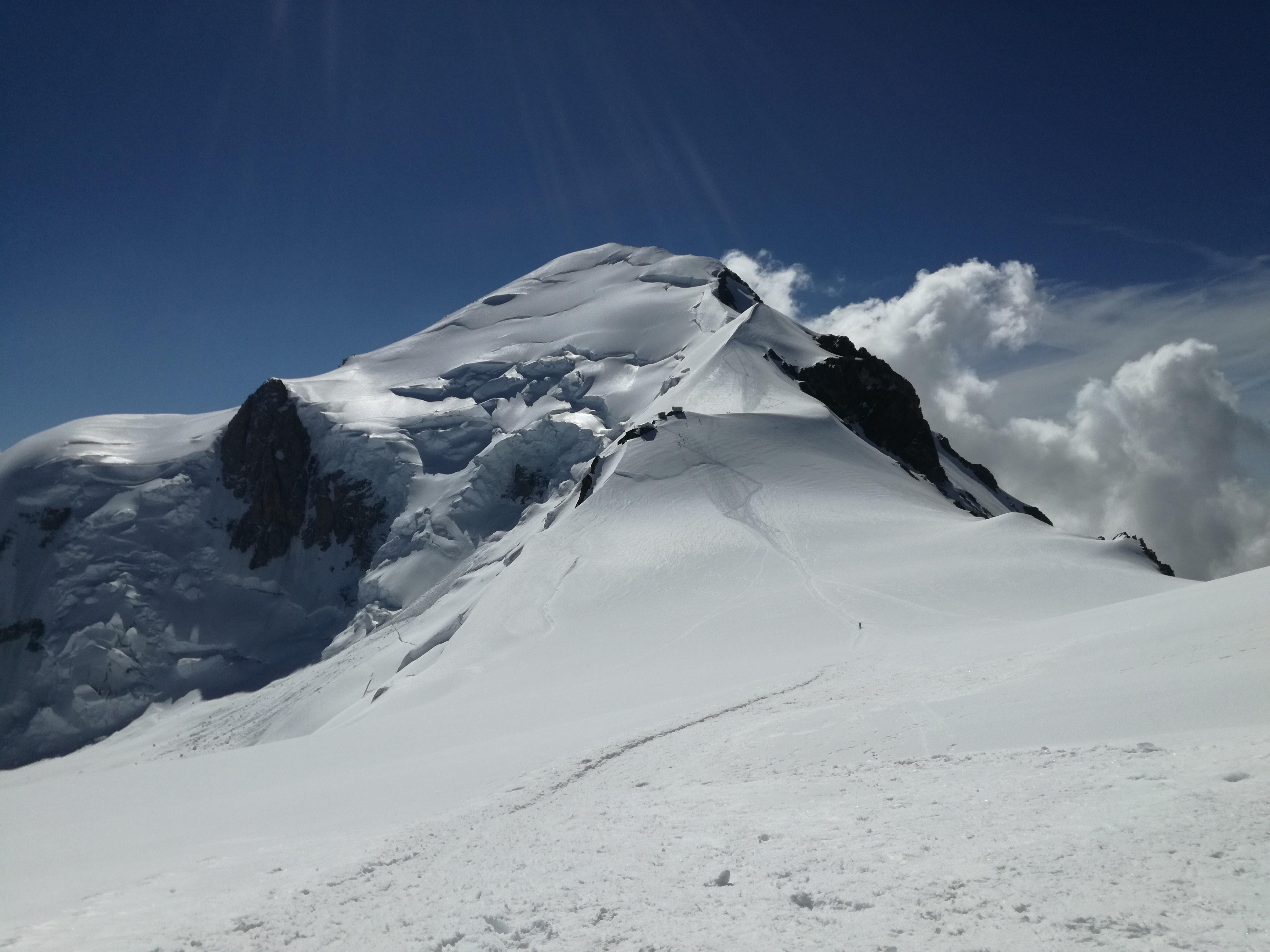 Monte Bianco 4810m, dove nulla è scontato
