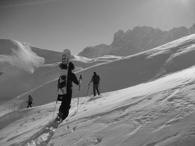 Gara di Slalom Gigante e salita al rif. Albani