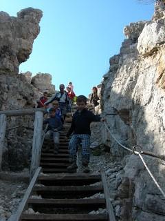 Giovani esploratori…