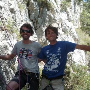 Due fratelli all'avventura.