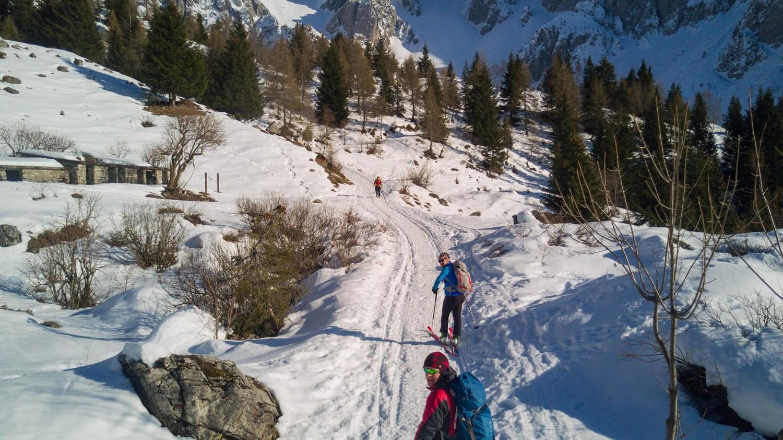 Avvicinamento allo scialpinismo