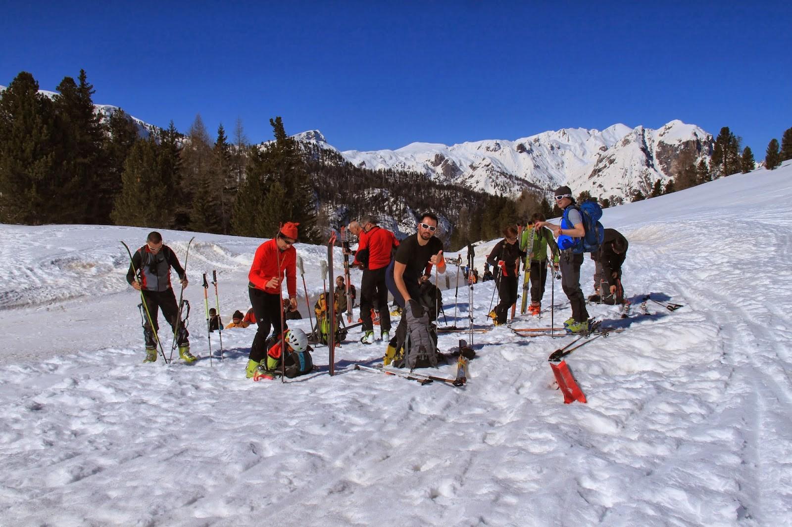 Picco di Vallandro (Dürrenstein) 2839 m – Scialpinismo in Valpusteria 1/3